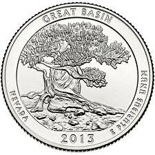 QUARTER DOLLAR DES ETATS-UNIS 2013 D - GREAT BASIN NATIONAL PARK