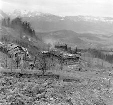 WW2 Photo WWII  Hitlers Berghof Berchtesgaden Austria May 1945 / 8015