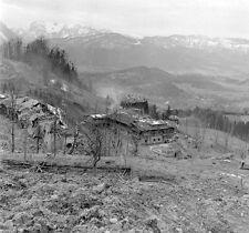 WW2 Photo WWII  Hitlers Berghof Berchtesgaden Austria May 1945 / 8015