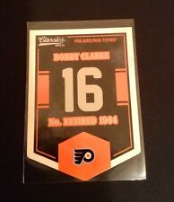 2012-13 (Flyers) Classics Signatures Banner Numbers #16 Bobby Clarke