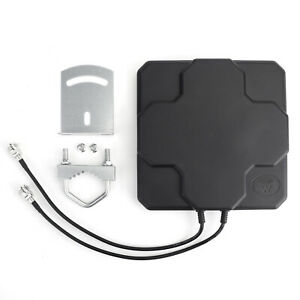 18dBi 4G LTE Antenna Outdoor Panel Dual MIMO N Female Signal Strength Booster A0