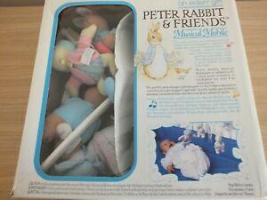 Beatrix Potter / Peter Rabbit Cot Mobile (BNIB)