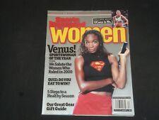 2000 NOV/DEC SPORTS ILLUSTRATED FOR WOMEN MAGAZINE - VENUS WILLIAMS - SP 7399