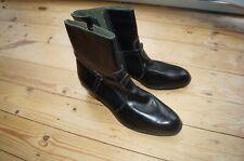 NEW VINTAGE CHELSEA BEATLE BOOTS BLACK CUBAN HEEL SIZE 11 Mayle Shoes MiE