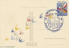 Poland postmark RUDKA - medicine tuberculosis (violet !!)