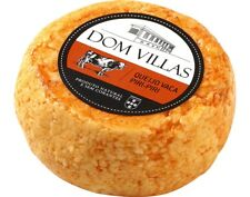 Portuguese Dom Villas Whole Ball Cow Cheese w/ Piri-Piri Natural without dyes