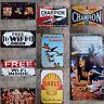 New Metal Tin Sign Poster Home Decor Plaque Bar Pub Club Wall Vintage Ret