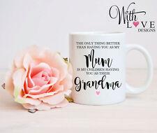 MUM GRANDMA NANNY NAN COFFEE MUG TEA CUP BIRTHDAY PERSONALISED GIFT MOTHERS DAY