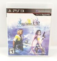 Final Fantasy X/X-2 HD Remaster Sony PS3 Game