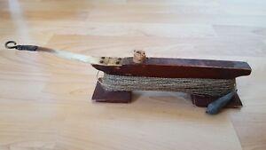 RARE Vintage Old Winter ICE Fishing fish rod