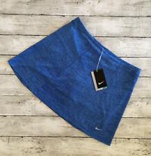 NIKE GOLF Dri-Fit Youth Girl's Blue Skirt Skort Back Pocket Size Large NWT$50