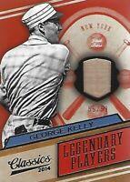 2014 Classics Legendary Players Bats #8 George Kelly 59/99