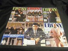 2016 EBONY MAGAZINE LOT OF 10 ISSUES - GREAT CELEBRITY FRONT COVERS - R 105