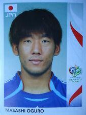PANINI 449 MASAHI Oguro Giappone FIFA World Cup 2006 GERMANY