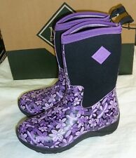 Muck Boots Women's Arctic Weekend Boot - Purple Floral Sz 6 New!
