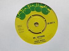 "VERNON BUCKLEY Mr Softhand GG ALL STARS Version UK 7"" Grape GR 3057 1973"