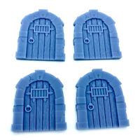 Resin 28mm Fantasy Medieval Arched Jail Door D&D Dungeon Large
