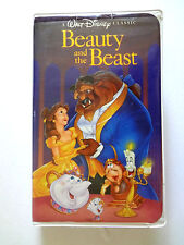 BEAUTY AND THE BEAST VHS 1992 WALT DISNEY CLASSIC
