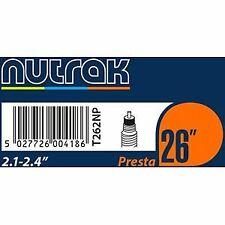 Nutrak 26 X 2.1 - 2.4 Inch Presta Inner Tube