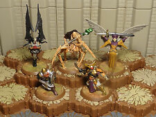 Heroscape - Special Figures and Cards Lot