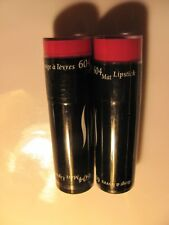 SEPHORA Rouge a Levres Mat LIPSTICK #604 RARE!!  SEALED VHTF Lot of 2