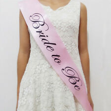 New Pink Bachelorette Party Sashes Bride to Be Sash Maid Honor Bridesmaid Supply