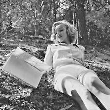 "Photographie,  ""Marilyn Monroe"", Silver Lake, 1951         /    15 x 15"