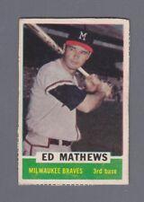 1962 Bazooka Ed Mathews Rare Shortprint