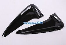 Gloss Black Side Marker Fender Air wing Vent cover Trim For BMW X5 F15 2014+