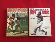 1972-1985 The Sporting News Baseball Dope Book / You pick 'em / Aaron / Schmidt