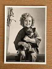 Shirley Temple 1937 Union Dresden Film Star Series 10 5 X 7 Cigarette Photo Card
