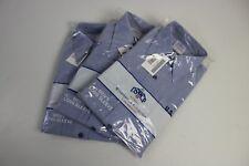 3 Pack Mens Military GENUINE US Navy Long Sleeve USN Blue Utility Shirt Medium