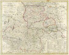 POLEN - NEUMARK - NOWA MARCHIA - Güseefeld - kol. Kupferstichkarte 1799