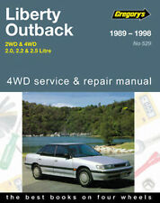 Subaru Outback/Liberty Workshop Repair Manual 1989-1998 with MPN GAP05529
