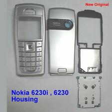 100% Genuine New Original Nokia 6230i Full Housing - Silver