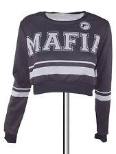 mr gugu & miss go felpa donna grigio taglia xs extra small veste larga