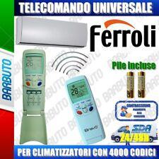 TELECOMANDO UNIVERSALE PER CLIMATIZZATORI FERROLI (BATTERIE INCLUSE)