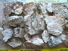 14KG NATURAL DEVON QUARTZ DECORATIVE FACING BUILDING STONE SPLIT AND DRESSED