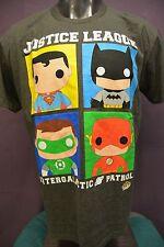 Mens Justice League Intergalactic Patrol Shirt New XL
