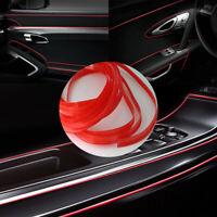Red Line Car Van Interior Decor 5M Point Edge Gap Door Panel Accessories Molding