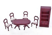 Case di bambole e miniature in sala da pranzo Scala 1:12