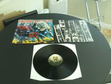 "IRON MAIDEN THE NUMBER OF THE BEAST 1982 UK PRESS 12"" VINYL RECORD LP"
