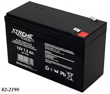 Gel AGM Batterie Xtreme 12V 7,5Ah zyklenfest wartungsfrei ersetzt 7Ah 7,2Ah 9Ah