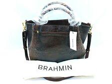 Brahmin Handbag - Small Mallory Satchel - Cocoa Sparrow
