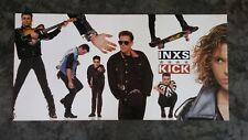 "Original 1987 INXS ""Kick"" In-Store PROMO Double ALBUM FLAT Atlantic Records"