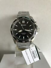 Seiko Kinetic Men's Analogue Black Dial Stainless Steel Bracelet Watch SKA785P1