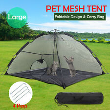 Cat DoPet Outdoor Tent Cage Shelter Enclosure Safe Yard Deck Patio Pop Up Tent