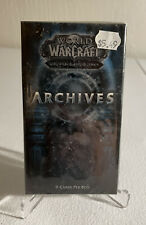 World of Warcraft WoW Archives TCG Booster Pack *Sealed* 9 Cards Cryptozoic 2010