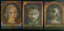 """THE GOLDEN COMPASS (Inkworks/2007) Complete """"DAEMON FORMS"""" Chase Card Set (3)"""