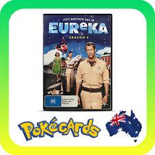 Eureka : Season 3 (DVD, 2011, 4-Disc Set)
